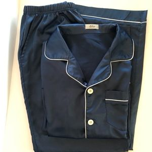 Aibrou 2-Piece Satin Lounge Wear